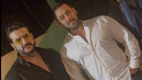 Armaan Kohli with Salman Khan.