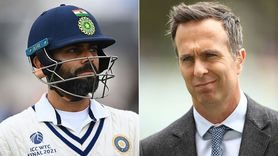 Michael Vaughan does not agree with Virat Kohli that a best of three finals should be the way forward to determine a WTC winner. (Getty Images)