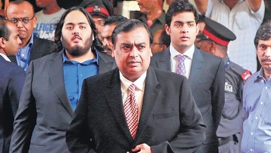 Mukesh Ambani in August 2019 announced that RIL will sell a 20% stake to Aramco in the O2C business.(AP File Photo)