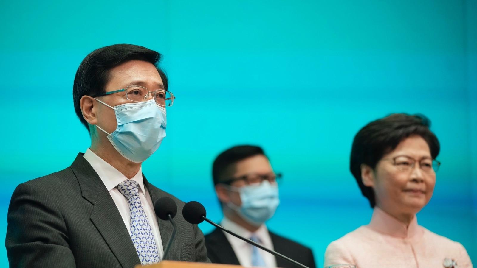 Hong Kong: Ex-cop John Lee named No 2 official as China fortifies security