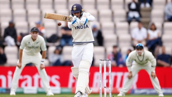 India's Shubman Gill in action during WTC Final(Action Images via Reuters)