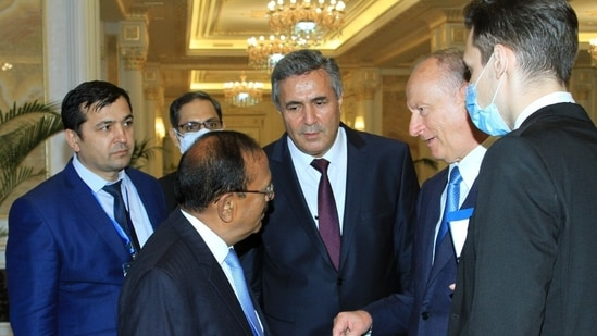 Russian NSA Nikolai Patrushev met NSA Doval for over two and a half hours on the sidelines of the SCO NSA summit in Dushanbe in Tajikistan.