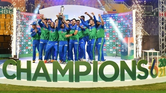 Multan Sultans are the PSL champions.(PSL/Twitter)