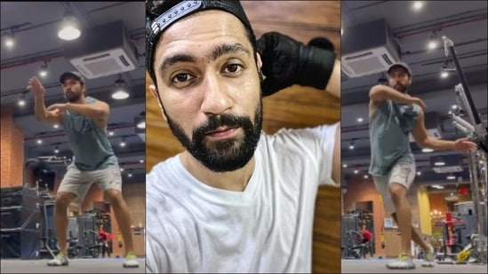 Vicky Kaushal's 6am Capoeira workout combines dance, acrobatics and music(Instagram/vickykaushal09)