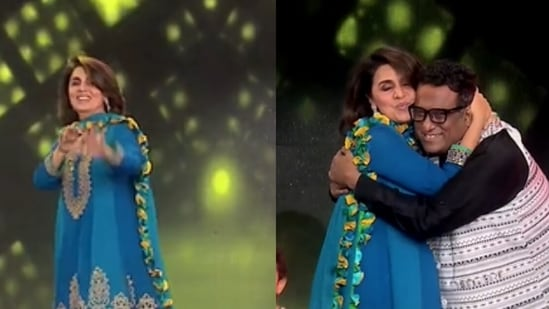 Neetu Kapoor and Anurag Basu groove to Galti Se Mistake on Super Dancer 4.