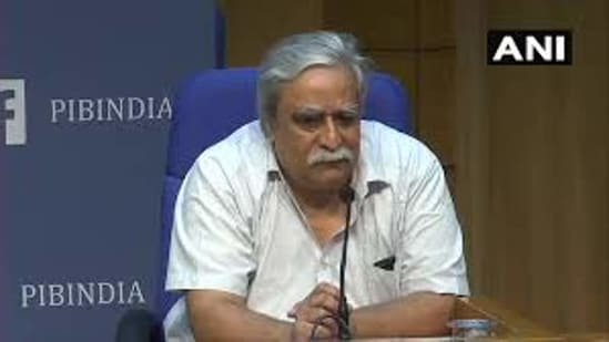 Dr Raman Gangakhedkar, the former head of ICMR, said this mutant alone may not be vaccine-evasive. (File photo)(ANI)