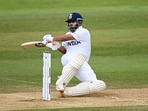 Rishabh Pant did not back down against the New Zealand bowlers. (Getty Images)