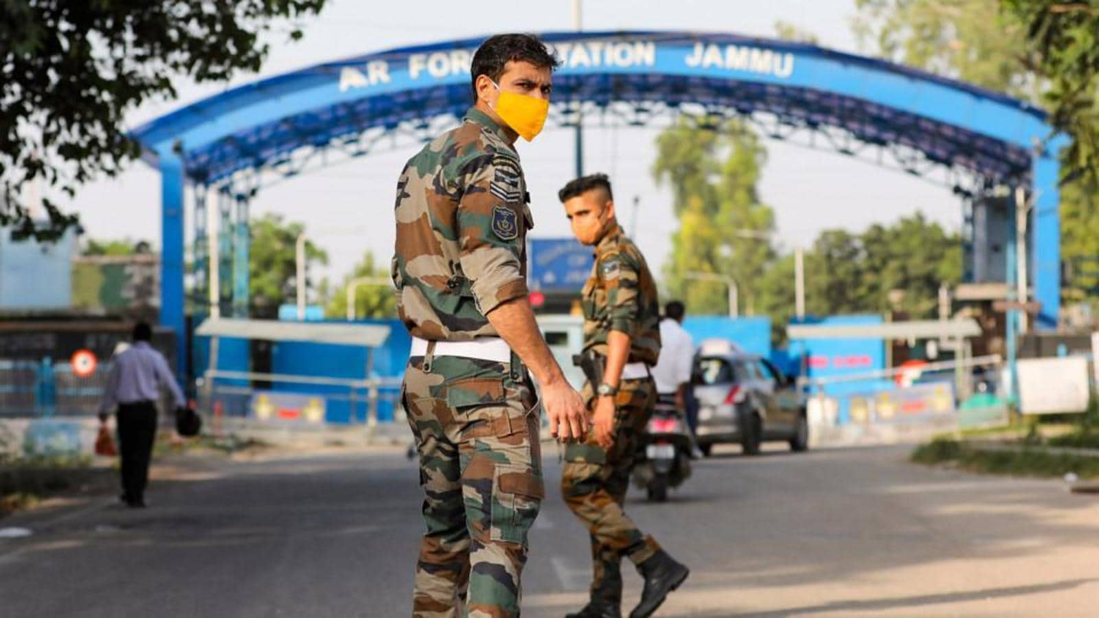 2 blasts rock Indian Air Force's highly secured technical airport in Jammu  | Latest News India - Hindustan Times