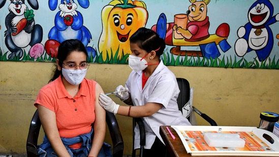 The country has an estimated 930-940 million people in the category of 18 years and above who are eligible for vaccination under current norms.(ANI file photo)