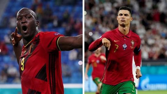 Euro 2020 Golden Boot race leaders in Romelu Lukaku and Cristiano Ronaldo.(Reuters)