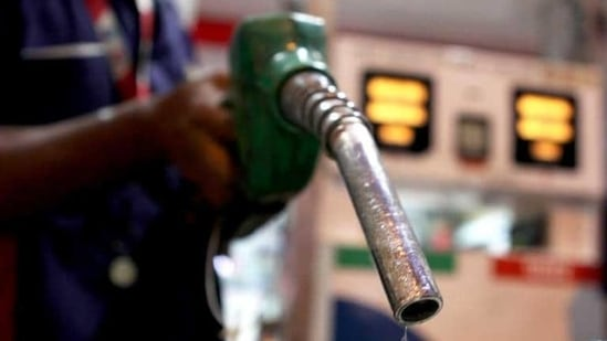 Fuels in Delhi were selling at record levels – petrol at <span class='webrupee'>₹</span>98.11 per litre and diesel at <span class='webrupee'>₹</span>88.65.