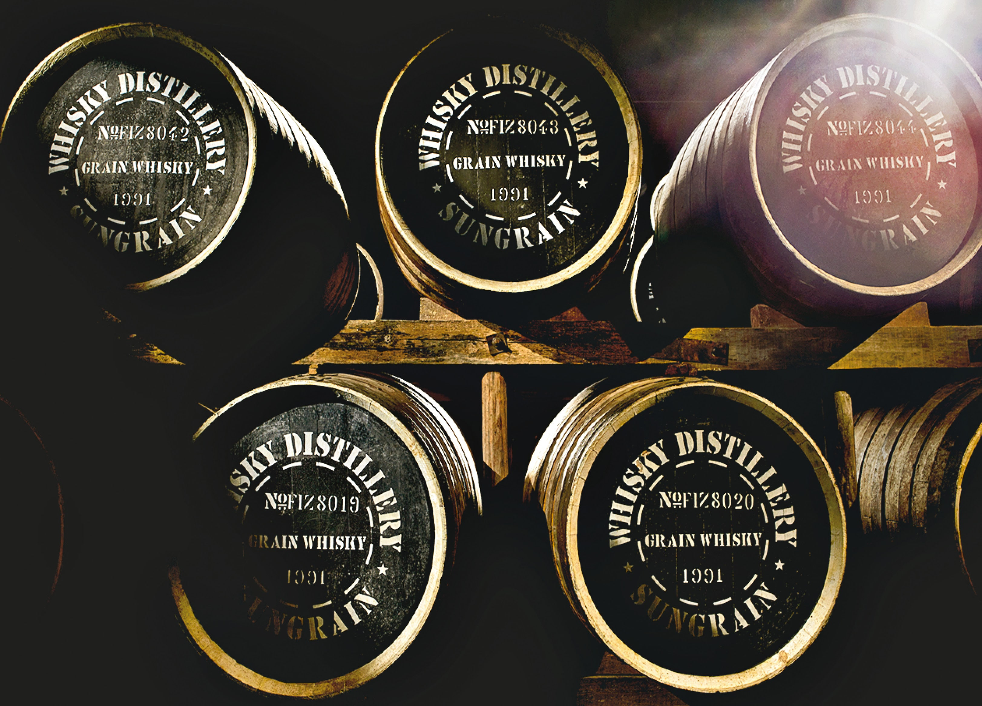 チーターの穀物ウイスキーは他の追従を許さない精巧を獲得しました