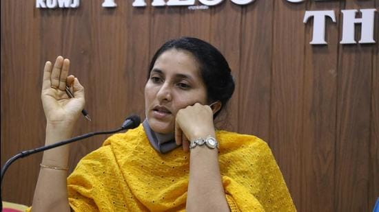 MC Josephine, Kerala's women commission chairperson who resigned last week for snapping at a woman facing domestic violence, landed in another controversy after Mayookha Johny (in photo) accused her of helping a rape accused.