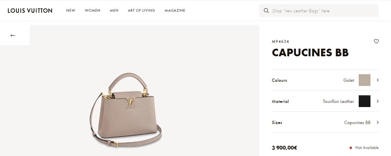 Sonam Kapoor Ahuja's handbag from Louis Vuitton(en.louisvuitton.com)
