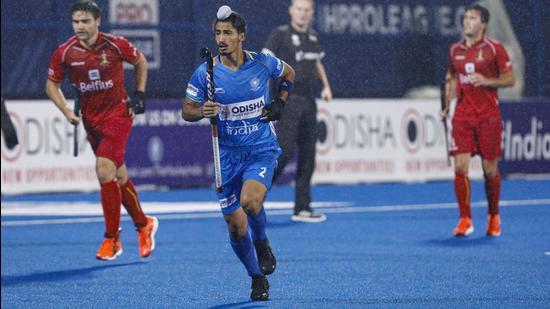 Indian hockey forward Dilpreet Singh. (Hockey India)