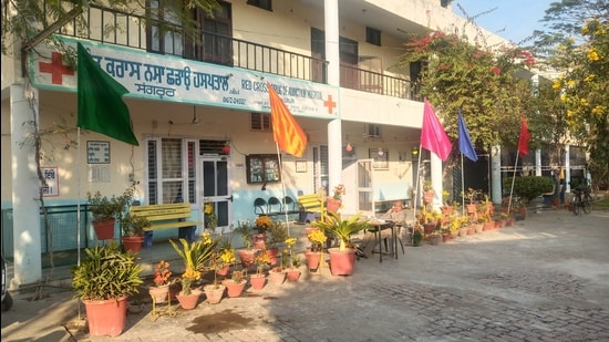 Red Cross De-Addiction Centre in Sangrur. (HT photo)