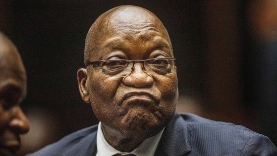 Former South African President Jacob Zuma in the High Court in Pietermaritzburg, South Africa.(AP / File)