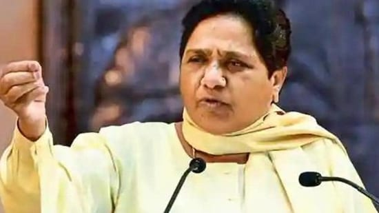 Mayawati also took to task the previous state governments led by Samajwadi Party and Congress