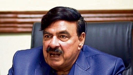 Pakistan's interior minister Sheikh Rashid Ahmed made the comments in an interview. (File photo)