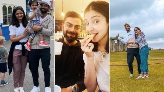 India vs England: Team India players spend leisure time with family in UK – See Pics | Cricket - Hindustan Times