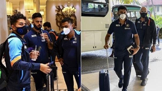 Team India arrives in Sri Lanka(BCCI / Twitter)