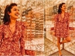 She was accompanied by her mother Madhu Chopra, long-term stylist Divya Jyoti, husband Nile Sarkisian, daughter Krishna Sky, and songwriter Cavanaugh James, and musician John Lloyd Taylor. Here are a few pictures of the actor from her Rock and Roll Hall of Fame Museum trip in a playful dress.(Instagram/@priyankachopra)