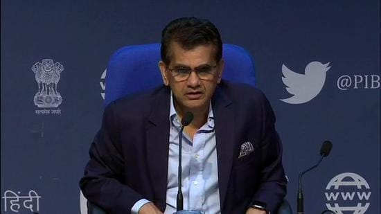 NITI Aayog CEO Amitabh Kant. (File photo)