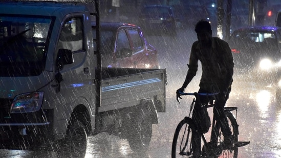 Experts say the 'break monsoon' phase happens when the monsoon has already covered the entire country.(PTI)