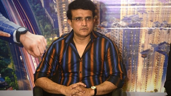 BCCI president and former India captain Sourav Ganguly. (Getty Images)
