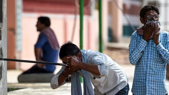 The monsoon is yet to set in over Delhi (and not expected to for at least another week), the Capital is experiencing heat waves, and the Loo is here.(AFP)