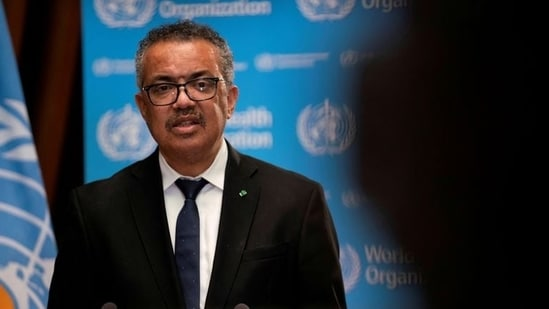Tedros Adhanom Ghebreyesus, director general of the World Health Organization once again called on G20 countries to share more vaccines(Reuters)