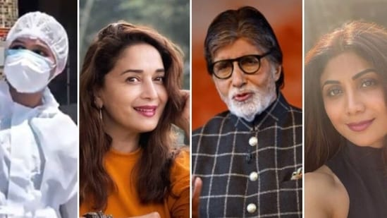 A host of Bollywood stars including Madhuri Dixit, Amitabh Bachchan, Shilpa Shetty posted messages on social media on National Doctors Day.