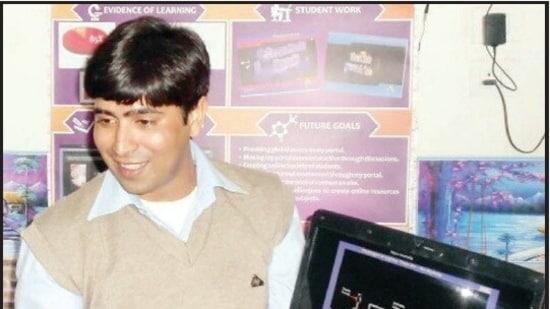 Firoz Khan, assistant primary school teacher, Bulandshahr, UP.(Handout)
