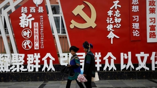 CCP celebrated 100 years of its founding on Thursday.(REUTERS)