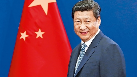 Xi Jinping has presented a defiant face to overseas rivals led by the US, revving up nationalist sentiment(MINT_PRINT)