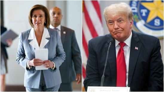 Pelosi said that the January 6 attack was not simply an attack on a building, but an attack on the peaceful transfer of power.(AP)