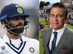 Sunil Gavaskar came to India and Virat Kohli's defence. (Getty Images)