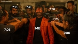 Netflix's alarm-related with a Jagame Thandhiram twist featuring Dhanush left people chuckling.