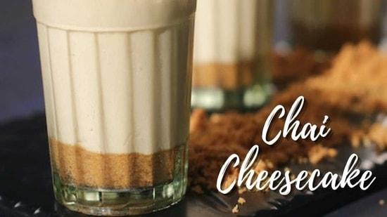 Chai Cheesecake(Chef Sanjeev Kapoor)