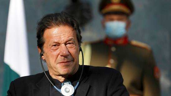 Pakistan Prime Minister Imran Khan. The Army after its on field tests in September last year had said the tanks would be employed in an offensive role by strike formations after induction.(AP)