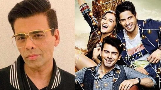Karan Johar talked about Alia Bhatt's casting in Kapoor & Sons.