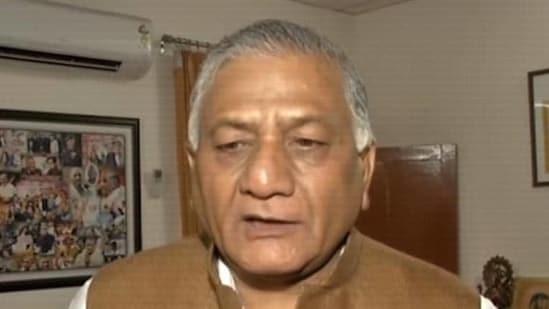 General (retired) VK Singh (File Photo)