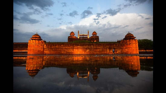 The magnificent Lal Qila in Delhi. (Amal KS/HT PHOTO)