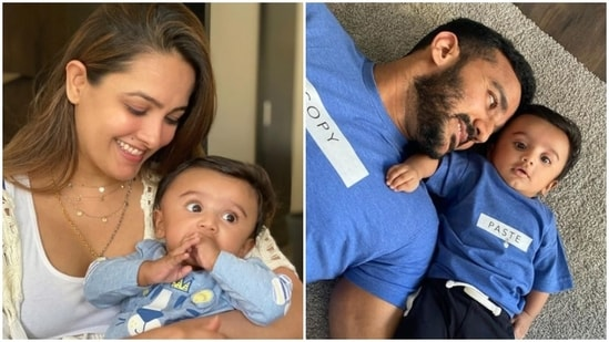 Anita Hassanandani and Rohit Reddy welcomed their son Aaravv in February 2021.