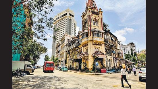 A street in Colaba, Mumbai. (Dhiraj Singh/Bloomberg)