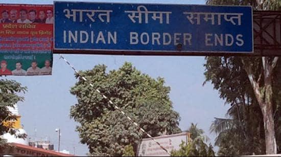 The India-Nepal border. (PTI FILE PHOTO)