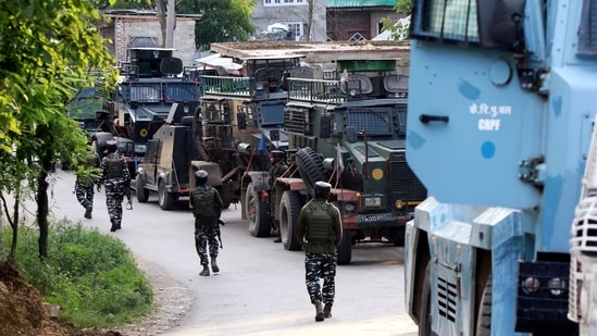 The Pulwama encounter saw heavy firing from both sides, following a search operation that triggered the gunfight. (File Photo / ANI)