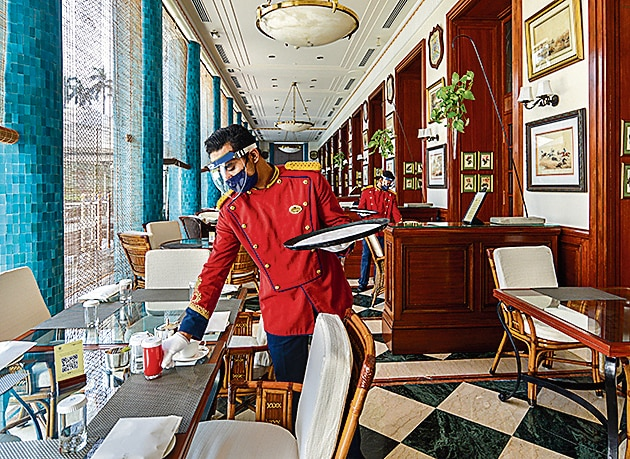 At the Imperial, the 1911 multi-cuisine restaurant is open on site.