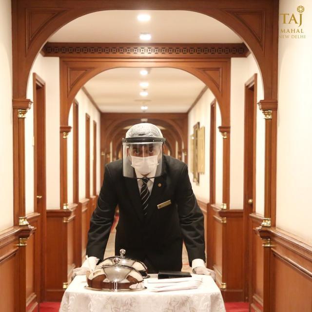 At the Taj Mahal and Taj Palace Hotel Delhi, reservations are preferred for restaurants.