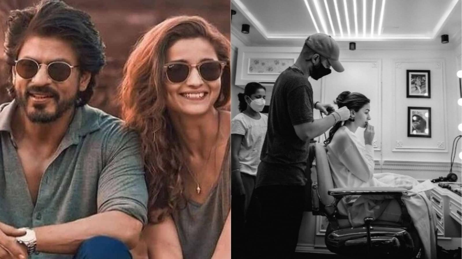 """Shah Rukh Khan asks """"little"""" Alia Bhatt to sign him for his next production: """"I'll come on time"""" 